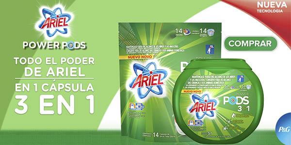 ariel PODS cápsulas pack 114 lavados precio brutal