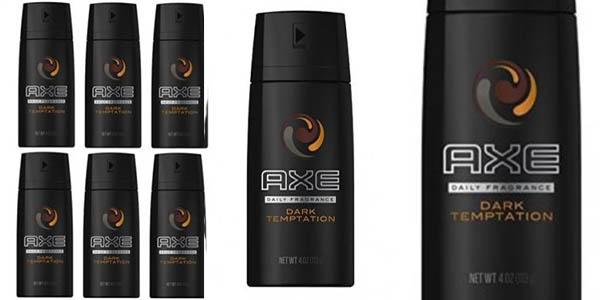 Axe Dark Temptation pack 6 botes de 150 ml barato
