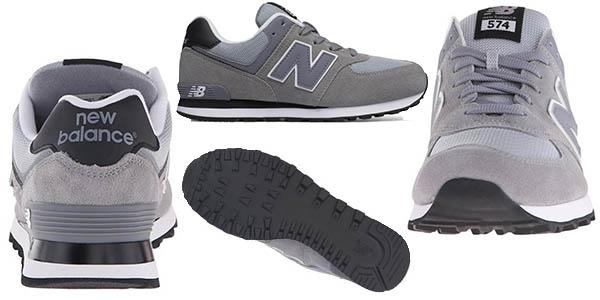 new balance 574 hombre gris