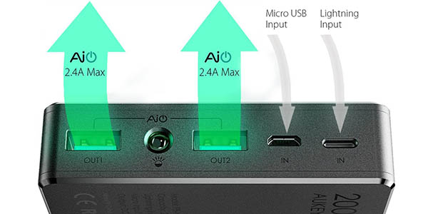 Batería Aukey PB-N36 2.4A