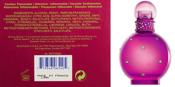 britney spears fantasy 100 ml perfume precio brutal