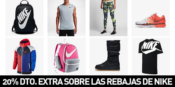 5001dea642f4e BRUTAL 20% adicional sobre el 30% de las rebajas actuales en Nike ...