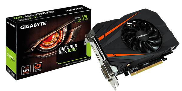 Gigabyte GeForce GTX 1060 Mini ITX OC 6GB GDDR5
