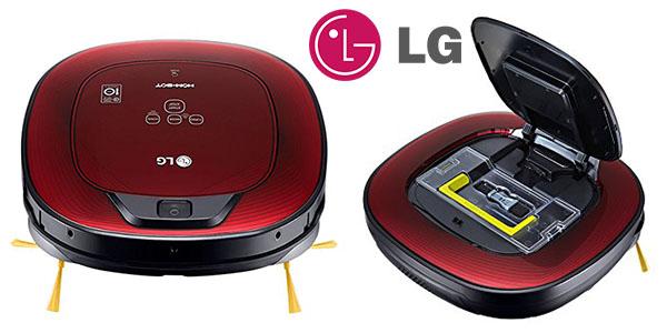 LG VR8602RR Hombot Square Turbo Serie 9+ robot aspirador inteligente