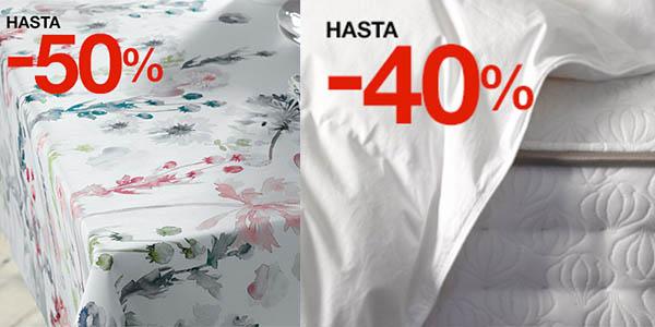 manteleria juegos ropa cama precios brutales El Corte Inglés Blancolor