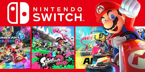 Juegos para Nintendo Switch