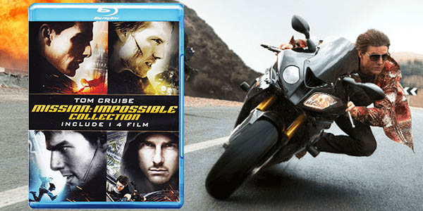 Pack Misión: Imposible en Blu-ray