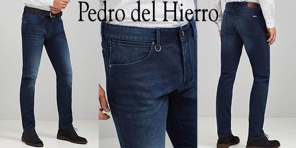 1ff6c34cc8 CHOLLO LOCO  Vaqueros Pedro del Hierro Denim Slim Lavado Oscuro para ...