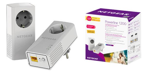 Kit PLC Netgear PLP1200-100PES de 1200 Mbps