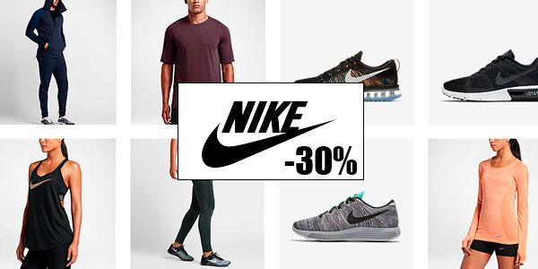 eec791893265b Y es desde hoy en la web de Nike dispones de una enorme selección de ropa y  calzado deportivo con descuentos de hasta un 30% en ropa