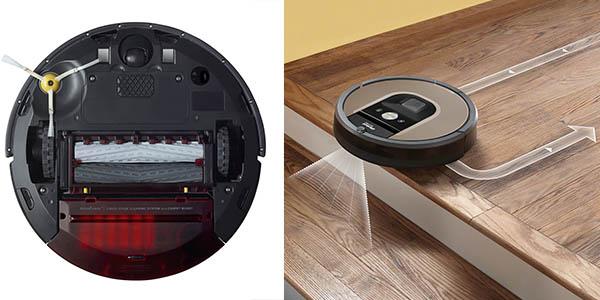 robot aspirador inteligente roomba 966