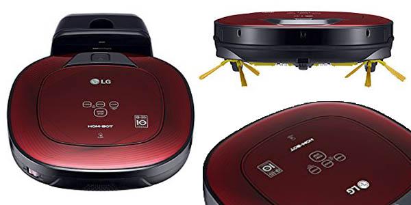 robot limpieza programable LG VR8602RR hombot square turbo