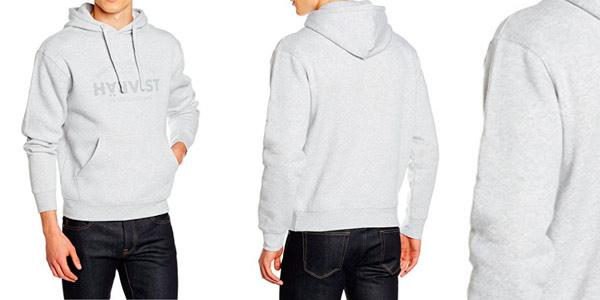 334c60dfe258c Chollo sudadera Härvist con capucha en color gris por sólo 21