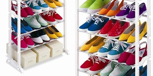 Funcional zapatero para 30 pares de zapatos por s lo 9 99 for Mueble zapatero 30 pares