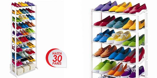 Funcional zapatero para 30 pares de zapatos por s lo 9 99 for Zapatero gran capacidad