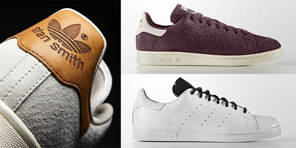 zapatillas clásico diseño Adidas Stan Smith en colores rebajadas