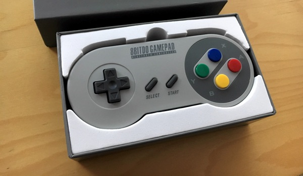 8bitdo Gamepad Bluetooth barato retro