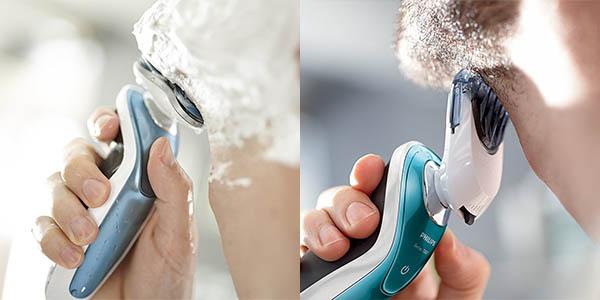 Philips S7370/41 Wet & Dry con perfilador de barba