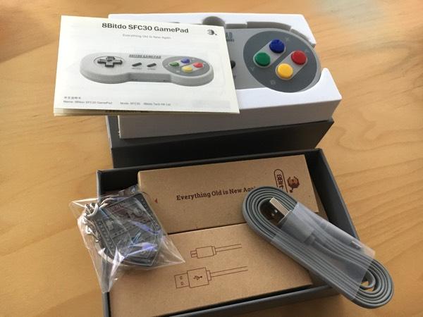 unboxing 8bitdo Super Nintendo mando bueno