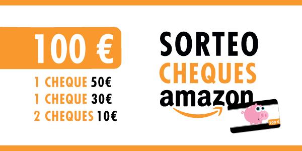 Sorteo de 100€ en cheques de Amazon