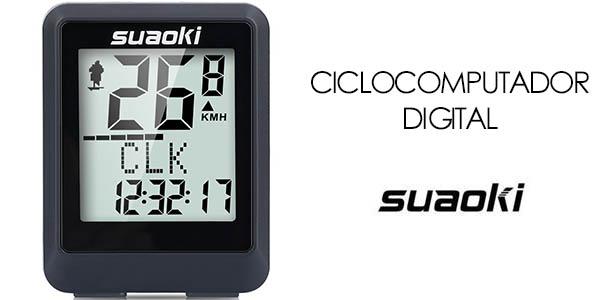 Ciclocomputador Suaoki 9500
