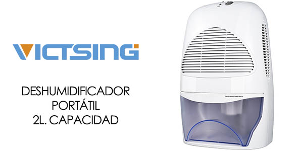 Chollo flash deshumidificador port til victsing 2l por - Deshumidificador para bano ...
