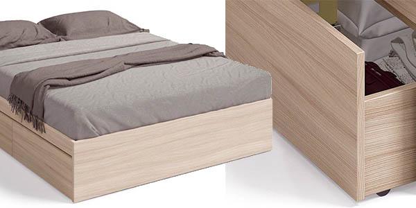 Perfecto Almacenamiento De Muebles De Madera De La Cama Cresta ...