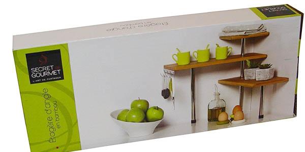 estantería secret gourmet decorativa gran relación calidad-precio