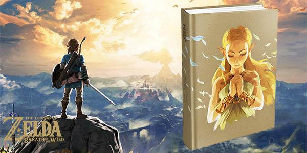 Guía oficial Legend of Zelda: Breath of the Wild Edición Extendida
