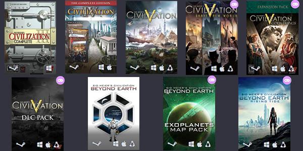 Humble Civilization Bundle