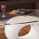 Mesa auxiliar diseño orgánico