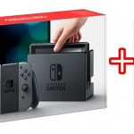 Nintendo Switch gris + Juego 1-2 Switch