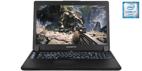 Portátil gaming Gigabyte P37X v6