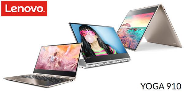 "Portátil 2 en 1 Lenovo 13,9"" Yoga 910-13"
