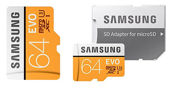 MicroSD Samsung EVO 64GB