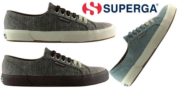 b5202f7ff07 Zapatillas Superga 2750 Fabric Herringbonem para hombre por sólo 24 ...
