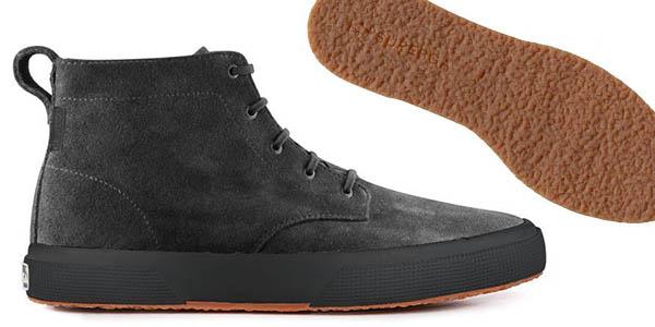Superga botines de ante con diseño casual y genial relación calidad-precio