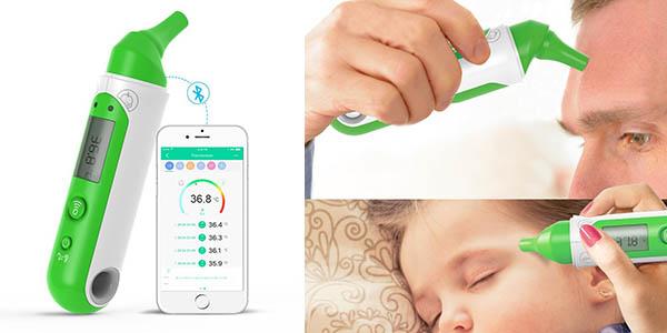 termómetro digital frente oído barato