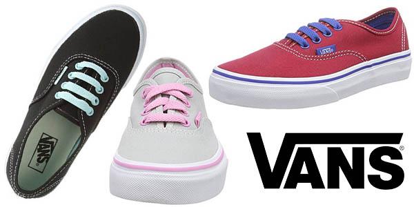 5d34c2883 Chollo brutal  Zapatillas Vans K Authentic Pop para niños por sólo ...