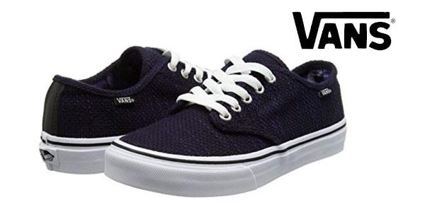 zapatillas vans tela mujer