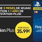 Promoción 12 meses PSN Plus + 3 meses Wuaki Selection