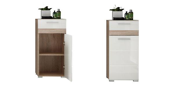Chollo mueble auxiliar para ba o trendteam por s lo 54 29 for Amazon muebles de bano