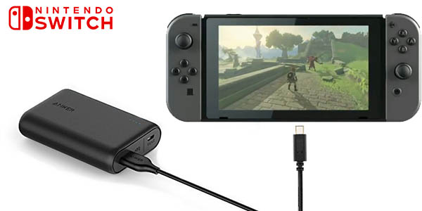 Batería Anker PowerCore 10000 para Nintendo Switch