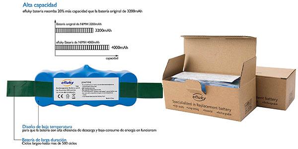 batería Roomba compatible modelos 500, 600, 700 y 800 altas valoraciones