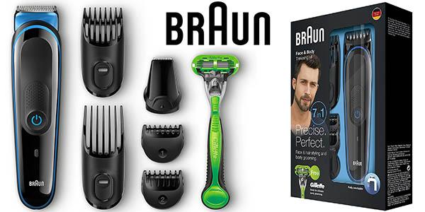 braun MGK3040 set afeitado hombre barato