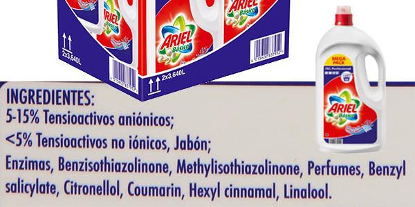 caja 2 botellas Ariel básico precio brutal