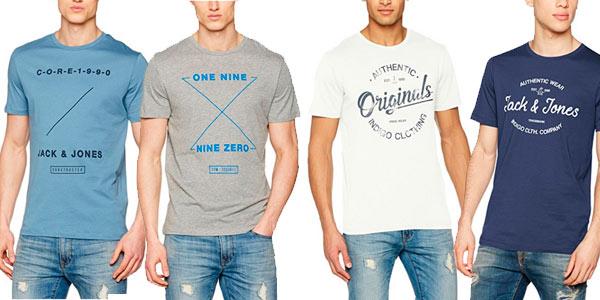 Camisetas Jack   Jones por menos de 8€ con cupón de descuento en Amazon b42aafd06b3f7