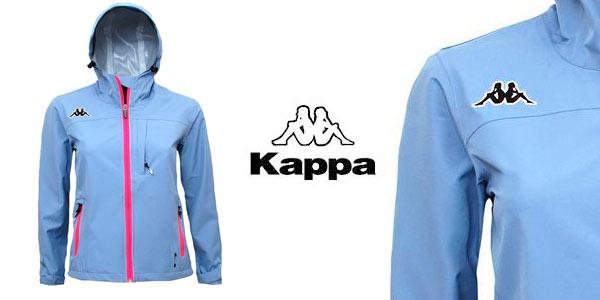 Chaqueta cortavientos impermeable marca Kappa para mujer rebajada en eBay e44e806f339bd