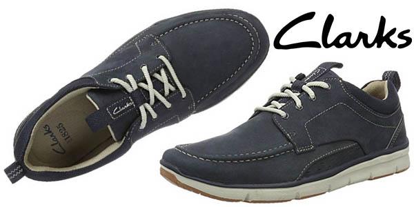 clarks orson bay zapatos casual hombre baratos