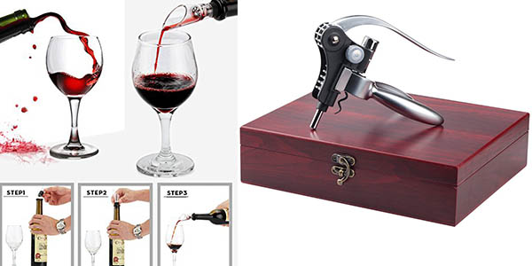 completo kit amantes vino original regalo